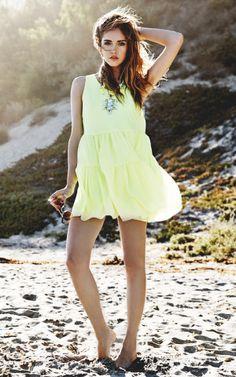 Angel Dress in Lime | Lovers + Friends