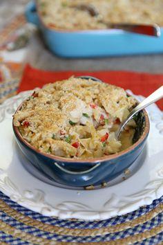 Kremasta i ukusna, ova zapečena testenina je idealna za topli ručak i jednostavno ju je napraviti. Ko bi poželeo više?