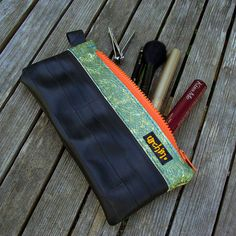 urchinbags // recycled bicycle inner tube pouch // $17.00