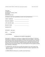 Divorce forms free word templates legal divorce papers real printable sample divorce documents form altavistaventures Gallery