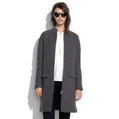 See by Chloé® Short Collar Zip Coat via Madewell