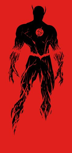 The-Flash by porojj. #blackandred #artwork #theflash http://www.pinterest.com/TheHitman14/black-and-red/