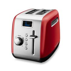 KitchenAid® 2-Slice High-Lift Lever Toaster in Red - BedBathandBeyond.com