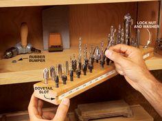 organizing drill bits - Google Search