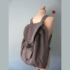 ΤΣΑΝΤΑ ΠΛΑΤΗΣ BACKPACK Μια πανέμορφη τσάντα πλάτης ή αλλιώς backpack! Με  οδηγίες βήμα βήμα και b4f4df79e1e