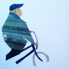 Cycling #morningcollage #collage