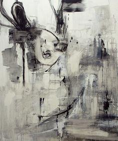 "Saatchi Online Artist Jazoo Yang; Painting, ""Dear People no.2""."