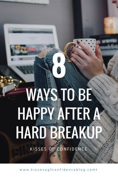 How to be less anxious, how to have better mental health, how to look after yourself and your wellbeing, all whilst getting over a breakup. Learn how to find joy in things again and become happier with these tips; work on you again! Mental Health Blogs, Mental Health Therapy, How To Get Better, How To Better Yourself, Getting Over Heartbreak, Understanding Emotions, How To Become Happy, Ways To Be Happier, After Break Up