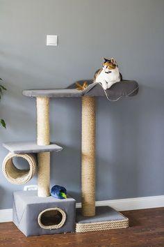 Drapak dla kota DIY. Drapaki dla kotów.