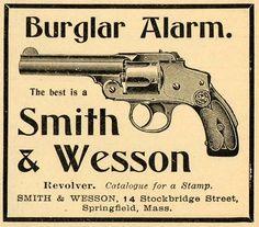 1899 Ad Smith & Wesson Revolver
