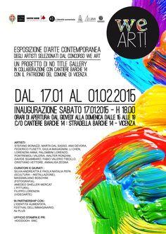 We Art - Esposizione d'arte contemporanea degli artisti selezionati dal concorso We Art,