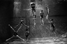 Synchronized Swimming Collection by Photographer Tomasz Gudzowaty
