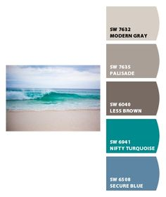 Beach colors. I like these.