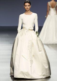Robe de mariée de princesse Cristina Tamborero 2016