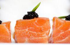 Almond-encrusted wild alaskan salmon