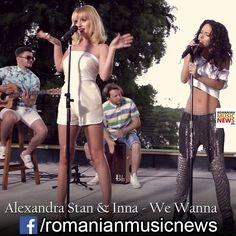#alexandrastan #inna #wewanna #romanianlatestmusicnews #romania #romanians #romanianmusic