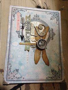 Other: Tim Holtz Ideaology Sample Project NEW CHA Winter 2014