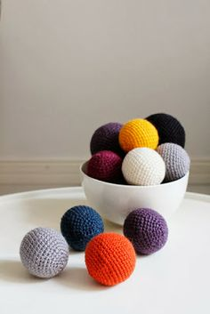 The Weave and Manage: Mummo'S BALLS CROCHET--has a graph pattern.  Use any size hook/yarn for different sizes.