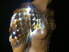 Illuminated Metallic Silver Bronze Gold by ElectricCandyCouture