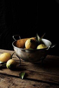 Dark Food Still Life /