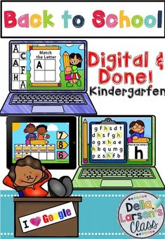 Google Classroom   Kindergarten   Back to school  Learning about letters and their features is crucial to being a successful reader. Kindergarten students need to identify the upper and lowercase letters in order to increase letter knowledge. A child's ability to quickly identify letters is an indicator of whether they will be a successful reader or one that struggles. Don't race through this critical step!!! This Google Classroom digital packet gives kids an opportunity to learn abo Google Classroom, Primary Classroom, Kindergarten Classroom, Kindergarten Readiness, Classroom Ideas, Elementary Teacher, Elementary Education, Bilingual Kindergarten, Online Classroom