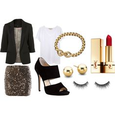 want a sparkle skirt like that for the holidays!