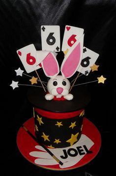 Magic Hat / Rabbit Birthday Cake   Flickr - Photo Sharing!