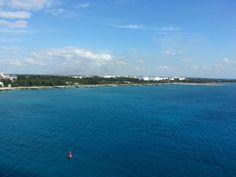 Leaving Freeport Bahamas