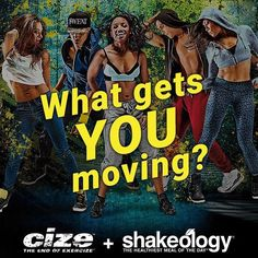 Want to get fit & lost weight but you're not into exercising with weights, push-ups, Yoga, or Pilates? Why not give Cize a try and dance yourself fit? #dancingmachine #cizeitup