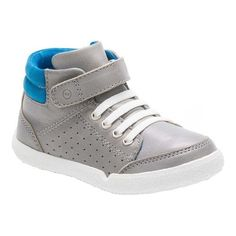 d8d68999e17438 Infants Toddlers Stride Rite SR Stone High Top - Toddler - Grey  Leather Textile