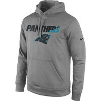 Panthers Hoodie - Nike - Staff Performance - Men's - Grey