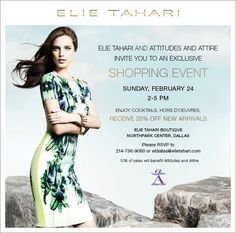 elie tahari event northpark