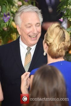 Alan Rickman London United Kingdom, Monday 13th April 2015 A Little Chaos premier