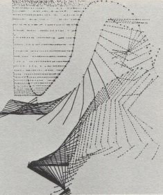 Figure 4.15. Jules-Etienne Marey, Diagram of a Jumping Figure, from a Chronophotograph (c.1885) (Marey in Lawder, 1975, p.9, Illus.)