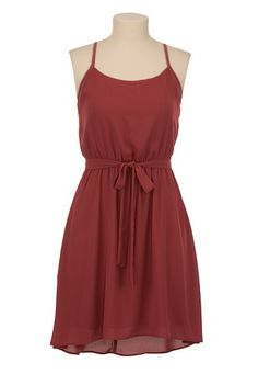High-Low Chiffon Tank Dress available at #Maurices So cute! $39