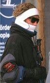 Princess Diana skiing in Austria, 1995