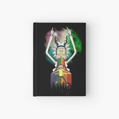 'Peace among worlds - Rick & Morty (TM) ' Hardcover Journal by MonoMano Journal Design, My Notebook, Rick And Morty, Notebooks, Cat Lovers, My Arts, Geek Stuff, Peace, Art Prints