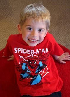 "Spiderman ""Leap"" T-Shirt (Sizes 4 – 7) at Cookies Kids"