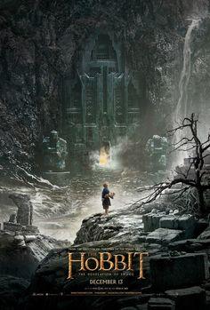 'El hobbit: la desolación de Smaug' presenta su cartel. http://beewatcher.es/el-hobbit-la-desolacion-de-smaug-presenta-su-cartel/