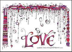 Dangle Valentine - Zenspirations