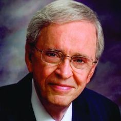 Dr. Charles Stanley of In Touch Ministries. My favorite teacher and inspiration. He is humble and human... and full of God's wisdom. - Lord, please protect him and let his work bless all those in need.