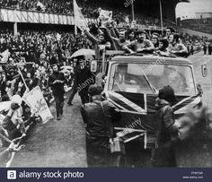 Rangers return to ibrox with ecwc 31/5/72.