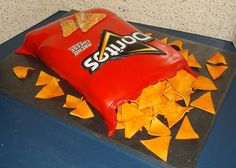 Doritos Bag Cake
