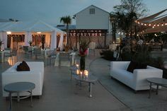 this is on the website of the event planners we are going through. this is the actual place for the reception. i love the couches and tent they use!