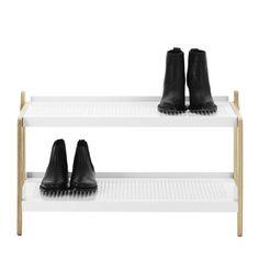 Normann Copenhagen – Sko skohylde, hvid – med sko