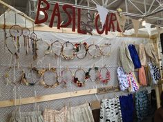 basil the girl - Craft fair display ideas - dear handmade life