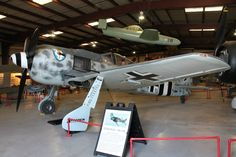 "FW190 ""Butcher bird"" - a replica build powered by an R1800 engine."