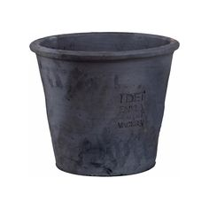 Terracotta Pot with Quote 250mm, Grey, Ernst Kirchsteiger