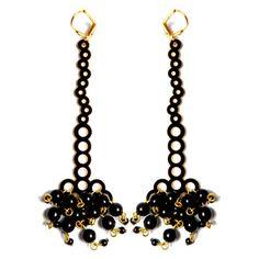 Berry Burst Earrings  by Saucier Jewelry