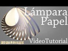 Haz tu Lámpara de Papel por menos de 1 ¬   Manualidades